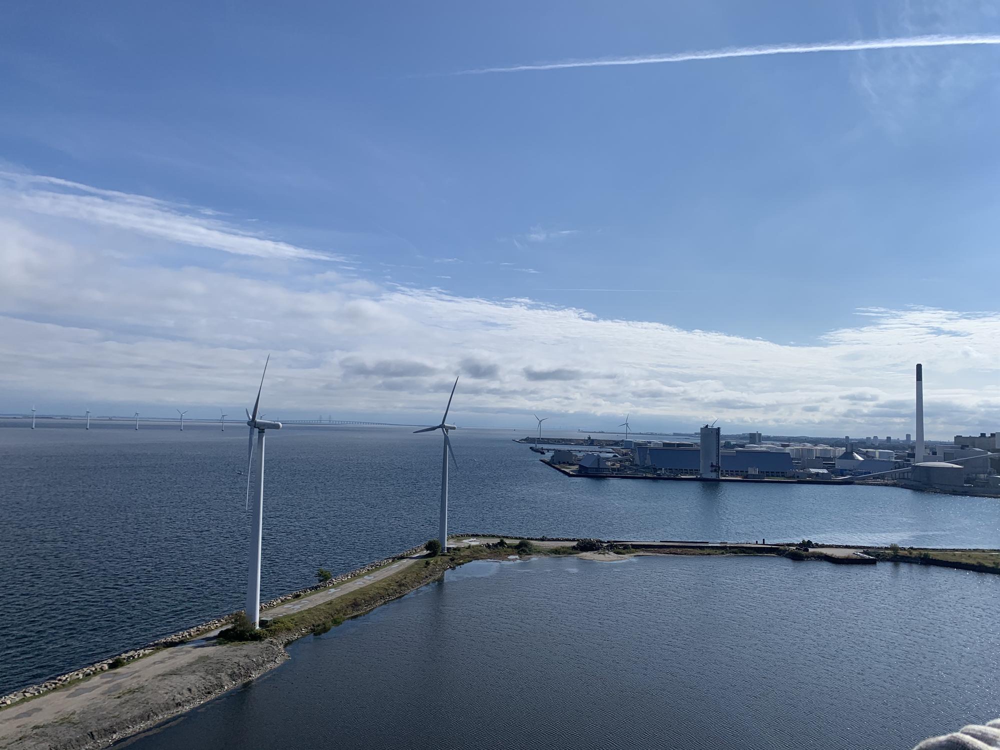 Wind Turbine Climb